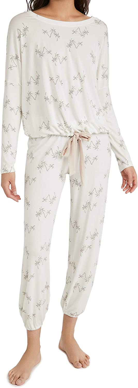 Eberjey Women's Ranking TOP15 Gisele Printed Giving Slouchy Set - safety PJ The