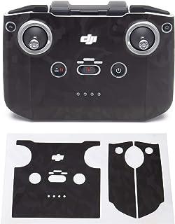 Wrapgrade Skin kompatibel med DJI Mini 2 | Fjärrkontroll (BLACK BUMPY CAMO)