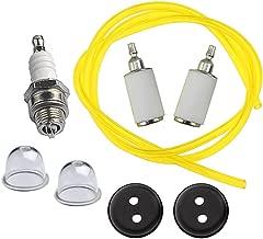 Hipa 3004105 300494 Fuel Filter Fuel Line Kit for Earthquake Tiller/Auger E43 E43CE E43WC 10310 Dually Auger MC43 MD43 DP10P MC43E MC43ECE MC43CE MC43RCE Cultivator WE43 WE43E WE43CE Edger