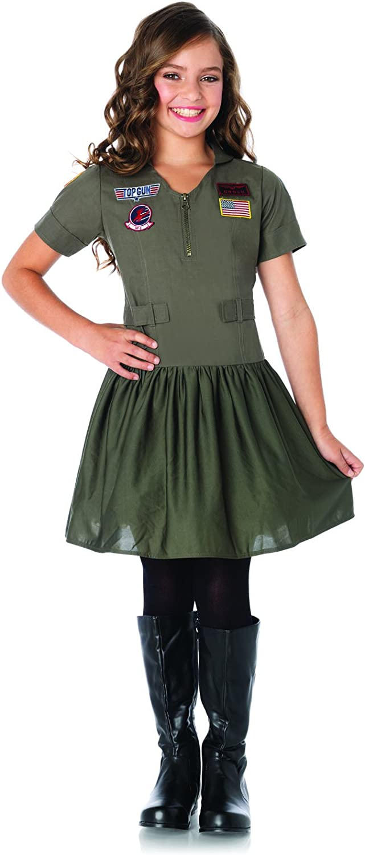 1 PC. Girls' Top Gun Flight Dress