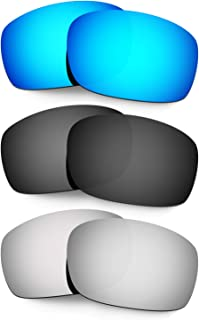 Hkuco Plus Mens Replacement Lenses For Oakley X Squared - 3 Pair