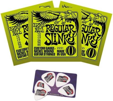Top 10 Best ernie ball 2221 nickel regular slinky electric guitar strings
