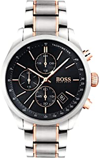 Hugo Boss Mens Quartz Watch, Chronograph Display and Stainless Steel Strap, 1513473