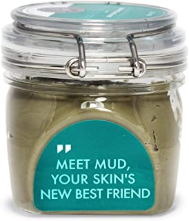 Dead Sea Mud Clay Mask – Purify Toxins & Impurities from Congested, Acne Skin (200g / 7 fl oz) INCLUDES Sanitary Spatula – Minimize Pores, Blemishes & Wrinkles - Gift Idea