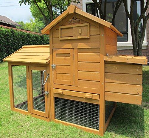 Pets Imperial ® Clarence - Poulailler pour 1 – 2 oiseaux, selon leur taille