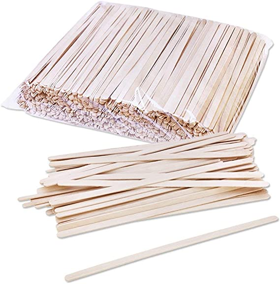 Birch Wood Coffee/Beverage Stirrers (1000 pack) Eco-Friendly Great For Your Coffee Nook. 7 inch