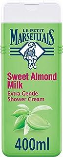 LE PETIT MARSEILLAIS Body Wash, Sweet Almond, Extra Gentle Shower Cream, 400ml