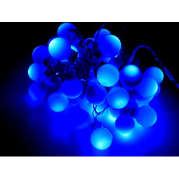 tu casa DW-160 Bulb Shape String Light (Blue)