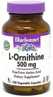 BlueBonnet L-Ornithine 500 mg Vitamin Capsules, 100 Count