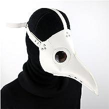 Halloween Décor Accessories Halloween Props Plague Beak Mask,Retro Leather Long Nose Rivet Doctor Bird Adult Mask,Cosplay ...