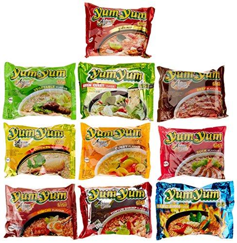 Yum Yum Nudeln Mixkarton, 1er Pack (30 x 60g)