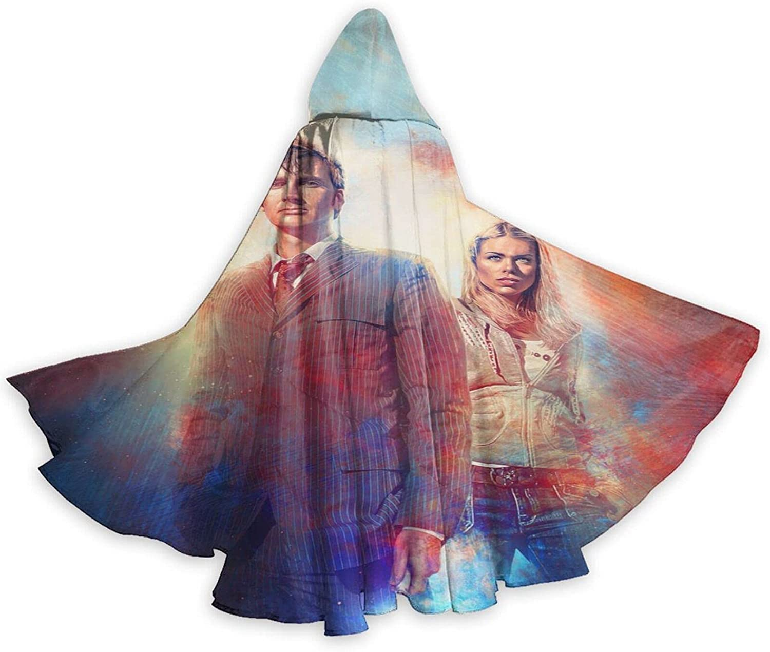 5% OFF Unisex D-octor Who Hooded Halloween Cosplay Robe Wizard Co Bombing free shipping Cloak