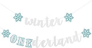 Winter Onederland Banner- Winter Onederland Birthday Decorations,Winter Onederland Party,Onederland Boy,Winter Onederland ...