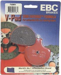 EBC Brakes FA94V Semi Sintered Disc Brake Pad, Black, One-Size