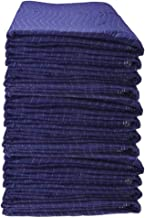 US Cargo Control Econo Saver Moving Blankets - 80 Inches Long By 72 Inches Wide - Blue Non-Woven Polyester Material - Movi...