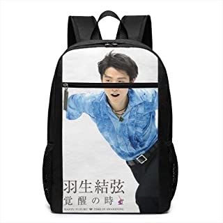 羽生結弦覚醒の時 カバン リュックサックバッグノートパソコン用のバッグ 大容量 バックパック キャンパス バックパック 大人のバックパック 旅行 ハイキングナップザック男女兼用