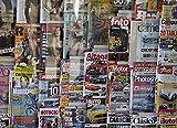 GXJAWYZ Rompecabezas Lote De Revistas Variadas(1000 Piezas)