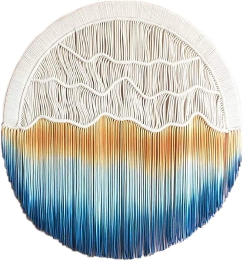 WFSH Tapestry Round Wall favorite All stores are sold Decoration Dyeing Hand-Woven
