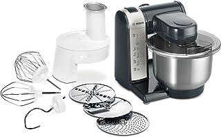 comprar comparacion Bosch MUM48A1 - Robot de cocina, 600 W, capacidad de 3.9 litros, 4 velocidades, color gris y antracita