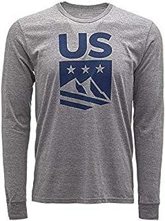 Spyder Active Sports Men's U.S. Ski Team Crest Long Sleeve T-Shirt