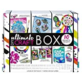 Fashion Angels Ultimate DIY Craft Box (12629), Includes 10 Projects, Craft Activity Box for Hours of Off Screen Fun, for Ages 8 and Up