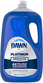 Dawn Ultra Platinum Advanced Power Dishwashing Liquid, Fresh Scent, 90 Ounce
