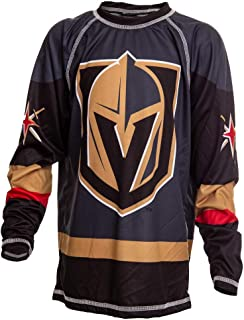 NHL Youth Game Day Long Sleeve Performance Loose Fit Rash Guard