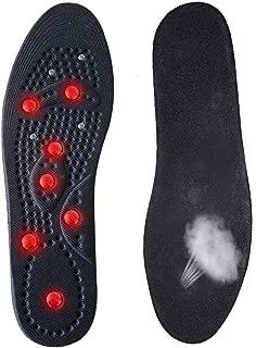 35 ~ 49 Gr/ö/ße Orthop/ädische Massage Schuheinlagen f/ür Plantarfasziitis Durchblutung Schmerzlinderung Akupressur Einlegesohlen AOLVO Magnetische Einlegesohlen