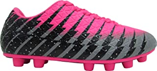 Vizari Bolt FG Soccer Shoes for Kids, Firm Ground Outdoor Soccer Shoes for Kids