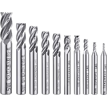 3//4 Cutting Diameter 3-1//2 Overall Length 3//4 Shank Diameter 1 Flute Dorian Tool EX90 Indexable Positive Extended End Mill