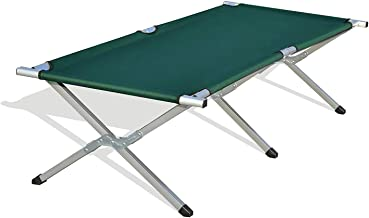 OZSTOCK® Folding Camping Bed Stretcher Light Weight Camp Portable with Carry Bag