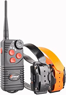 Aetertek Electric Dog shock Collar 600 Yards Remote Dog Training E-collar with Beep/Vibration/Shock Rechargeable Submersible train up to 3 dogs