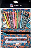 Forever Collectibles NFL Football Miami Dolphins Camo Stationery Set Schulbedarf Buntstifte etc -