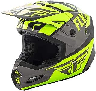 FLy Racing Elite - Casco de motocross para guitarra, hi-vis-grau-schwarz, tamaño: XS, MX Downhill BMX