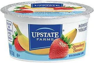 Upstate Niagara Coop Strawberry Banana Rich and Creamy Yogurt, 4 Ounce -- 48 per case.