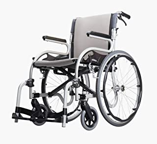Karma Star 2 Self Propel Wheelchair - 18″ Silver with free small side bag