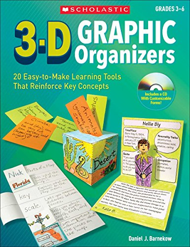 3-D Graphic Organizers: 20 Easy-to-Make Learning Tools That Reinforce Key Concepts