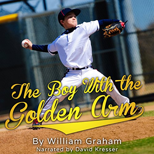The Boy with the Golden Arm audiobook cover art