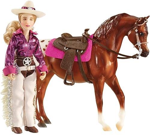 Breyer Ensemble poupée et Cheval Kaitlyn Cowgirl