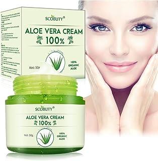 Cream Aloe VeraCrema de Aloe Vera para cara y cuerpoCrema hidratante para el cuidado de la piel rostro piel seca cuer...