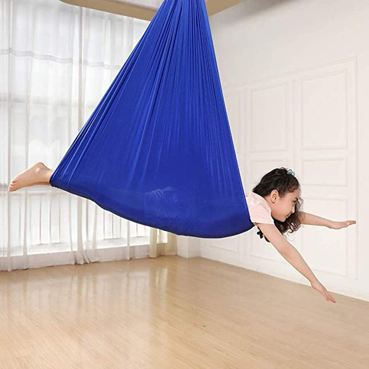 MTFZD Indoor Therapy Swing Ideal S Hammock Elastic Dealing full Excellence price reduction Yoga Children