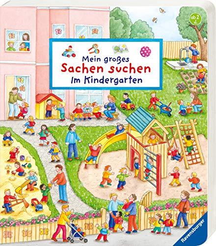 Mein großes Sachen suchen: Im Kindergarten