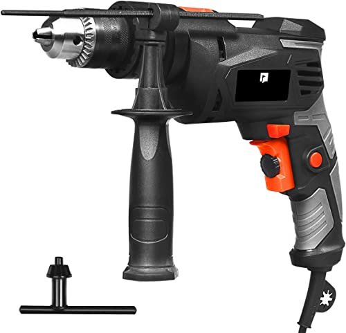 new arrival Goplus Hammer 2021 Drill, 3000RPM 1/2 Inch Electric Corded Drill Dual Drill Mode, Variable Speed Trigger, 360° lowest Reversible Handle, Speed Setting Knob for Drilling Wood, Metal, Masonry sale