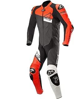 Alpinestars GP Plus One-Piece Leather Suit - Venom (46) (Black/Red/White)