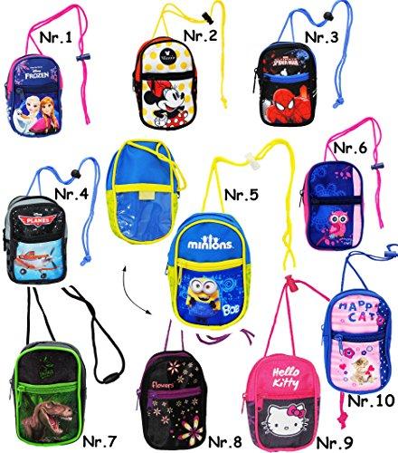 Preisvergleich Produktbild alles-meine.de GmbH Handytasche / Geldbörse / Brustbeutel - Minions - Ich einfach unverbesserlich - Geldbeutel - Portemonnaie für Kinder - Geld Handy Geldtasche - Mädchen & J..