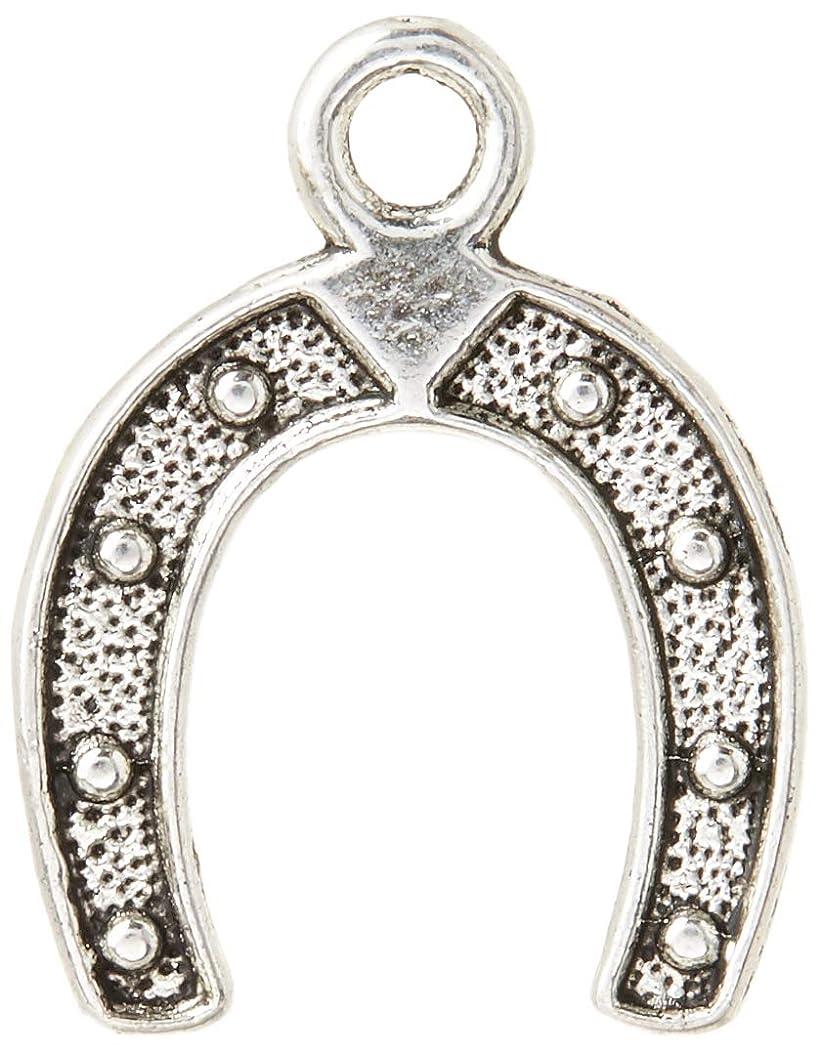 Housweety 30pcs Horseshoes Charms Pendants for Bracelet Necklace Jewerly Making