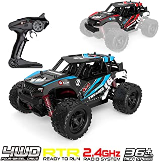 RC car Of Kids's Toy High Speed Off-Road RC Racing Buggy Crawler Car For Kids Adults 1:16 4WD 2.4Ghz【US Fast Shipment】