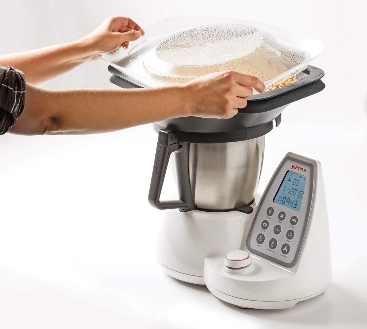 Yämmi Bandeja de Vapor a Utilizar con los Robots de Cocina de Yämmi: Amazon.es: Hogar