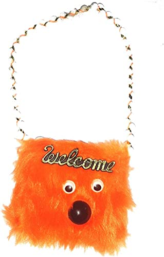 Cute Soft Pouch Kids Favorite Pouch Soft Fur Coin Pouch Fur Pouch Coin Purse Pouch for kids Mini Zipper Earphone Jewelry Coin Purse Round Soft Storage Case Bag for Girls Women Kids Combo of 2