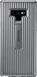 Samsung Galaxy Note 9 Protective Standing Cover Case - Silver